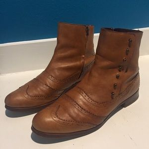 Cole Haan Wing Oxford Boots